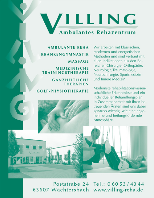 Villing Ambulates Rehazentrum